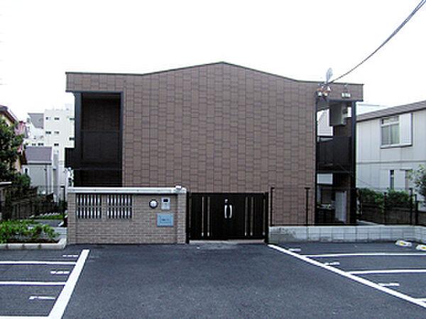 松風ハイツ[210号室]の外観