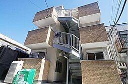神奈川県横浜市磯子区森2の賃貸アパートの外観