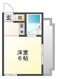 ロイヤルメゾン甲子園七番町[3階]の間取り