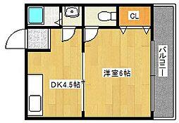 ロイヤルコーポラス[3階]の間取り