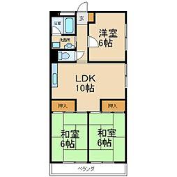 昭和ロイヤルハイツ[4階]の間取り