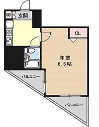 エスリード京都駅前[1106号室号室]の間取り