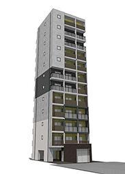 (仮称)向島五丁目共同住宅[8階]の外観