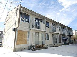 三重県松阪市垣鼻町の賃貸アパートの外観