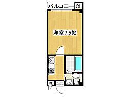 レジェンド・JS[6階]の間取り