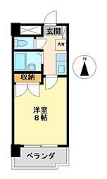 グリンハイツ[6階]の間取り