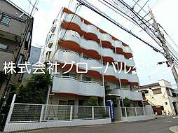 東京都葛飾区白鳥2の賃貸マンションの外観