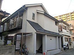 東京都府中市是政4丁目の賃貸アパートの外観