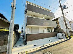 近鉄南大阪線 矢田駅 徒歩7分の賃貸アパート