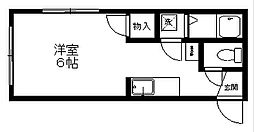 アルパインハウス[1階]の間取り