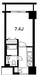 サンスタレ浅草[12階]の間取り