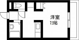 宮崎県宮崎市大工3丁目の賃貸マンションの間取り