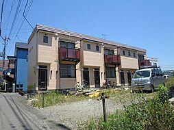 静岡県三島市中田町の賃貸アパートの外観