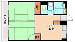 タキビル[3階]の間取り
