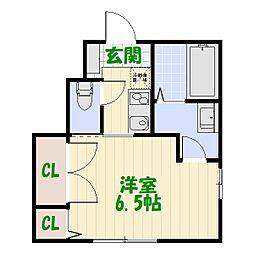 (仮称)葛飾区高砂5丁目計画[102号室]の間取り