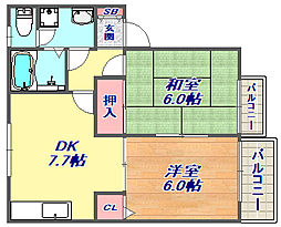 [タウンハウス] 兵庫県神戸市東灘区住吉南町1丁目 の賃貸【/】の間取り