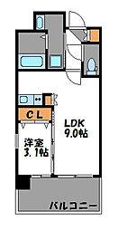 グランフォーレプライム大手門[13階]の間取り