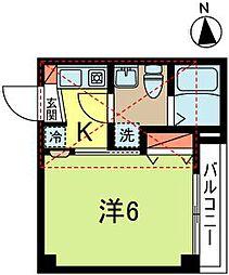 モン・シャトー高円寺[2階]の間取り