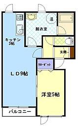 ファンタジアIII[303号室]の間取り