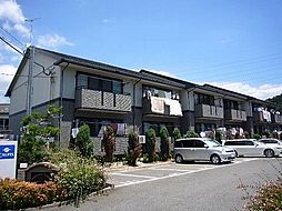 福岡県糟屋郡粕屋町大字大隈の賃貸アパートの外観