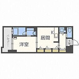 北海道札幌市白石区菊水四条3丁目の賃貸マンションの間取り