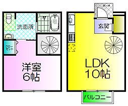 シェーンヴィラK&M2(D棟)[1階]の間取り