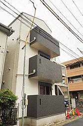神奈川県横浜市港北区綱島東6丁目の賃貸アパートの外観