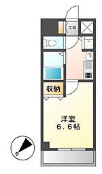 プレサンス千種駅前ネオステージ[6階]の間取り