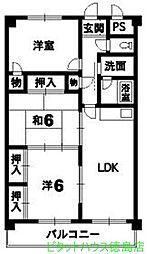 アマ・デトワールI[2階]の間取り