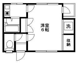 アバンティ泉佐野 4番館[1階]の間取り