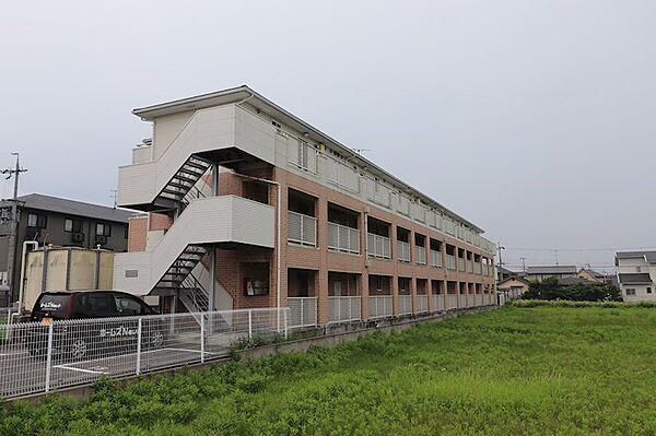メゾンドメグ[3階]の外観
