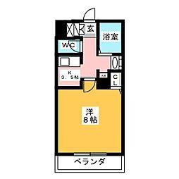 キャノンピア鶴舞[6階]の間取り