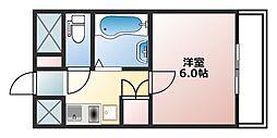 イマザキマンション[11階]の間取り