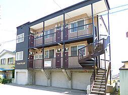 北海道小樽市富岡2丁目の賃貸アパートの外観