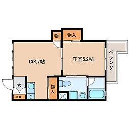 JR東海道本線 静岡駅 バス15分 静岡新聞社前下車 徒歩5分の賃貸マンション 1階1DKの間取り