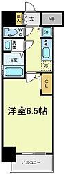 サムティ天王寺EAST[5階]の間取り