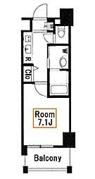 プレール・ドゥーク押上II[5階]の間取り