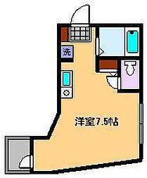 東京都足立区中央本町2丁目の賃貸アパートの間取り