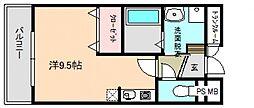 プチ・ソレール[1階]の間取り