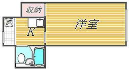 MIUMIU南品川[3階]の間取り