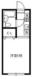 コート吉野[1階]の間取り
