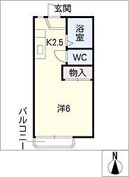 KOMAKI KOGYO[2階]の間取り