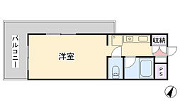 とれぞーる神戸の森[401号室]の間取り