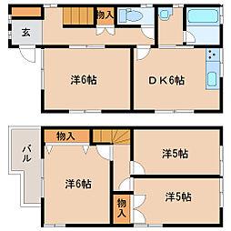[一戸建] 兵庫県尼崎市西長洲町3丁目 の賃貸【/】の間取り