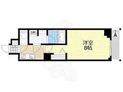 JR総武線 錦糸町駅 徒歩12分の賃貸マンション 1階1Kの間取り