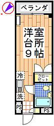 メゾン大場[303号室]の間取り
