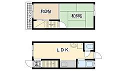 [一戸建] 兵庫県神戸市垂水区東垂水2丁目 の賃貸【/】の間取り