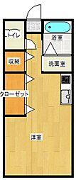 エバーライフ西高松[101 102号号室]の間取り