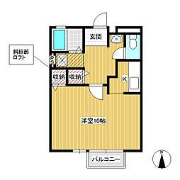 コートASAHI[2階]の間取り