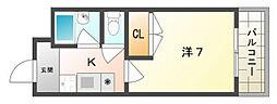 チェリーズマンション[2階]の間取り